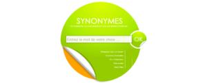 aide à la rédaction - synonymes