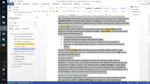 Traitement de texte en ligne - écrire un texte en ligne