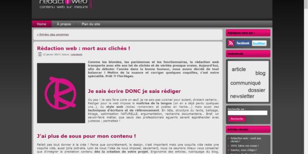 redactiweb avis - plateforme de rédaction web